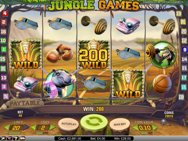 Jungle Games - Video Slot
