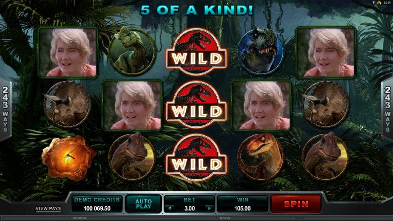 Jurassic Park - Video Slot