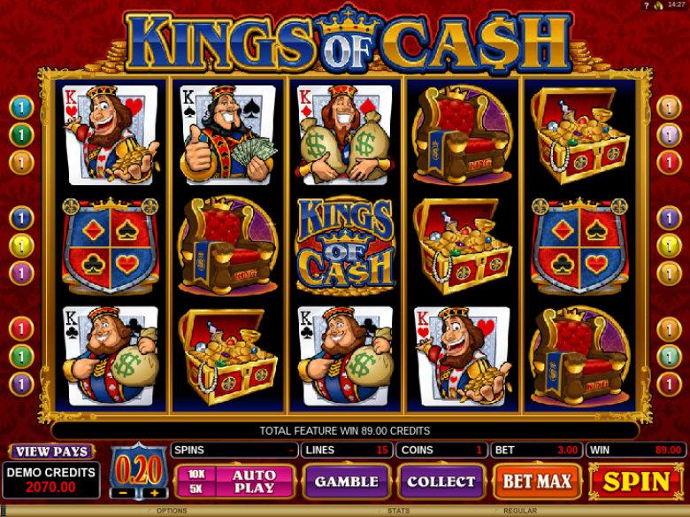 Kings of Cash - Video Slot