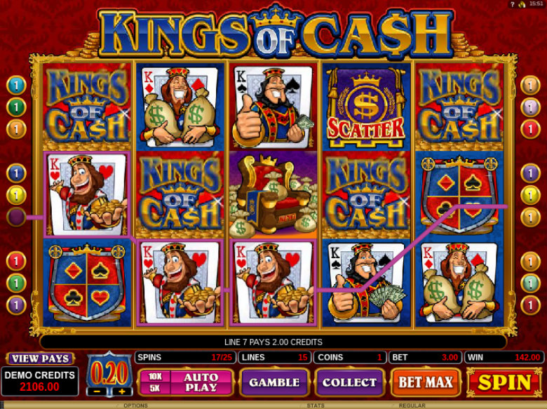 Kings of Cash - Online Slot