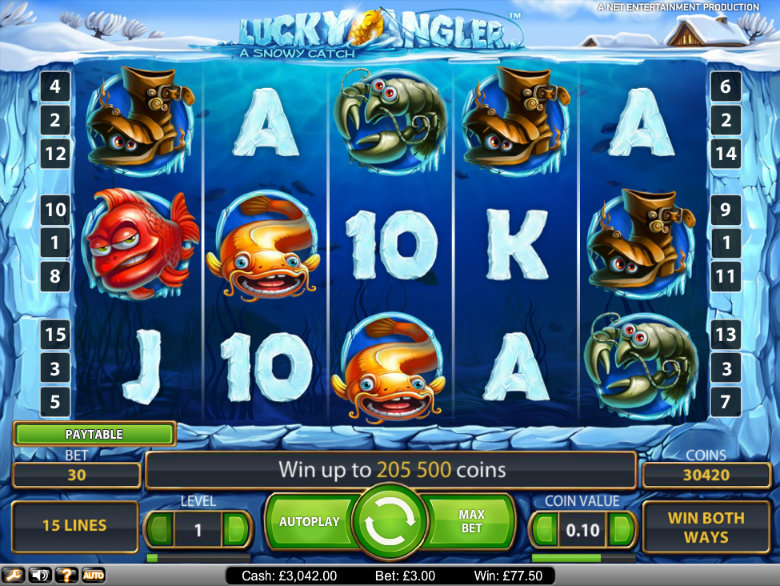 Lucky Angler - Video Slot