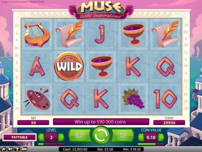 Muse: Wild Inspiration - Video Slot