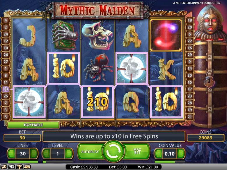Mythic Maiden - Video Slot
