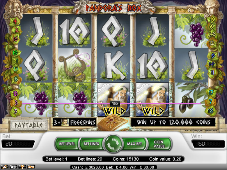 Pandora's Box - Video Slot
