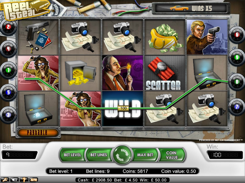 Reel Steal - Video Slot