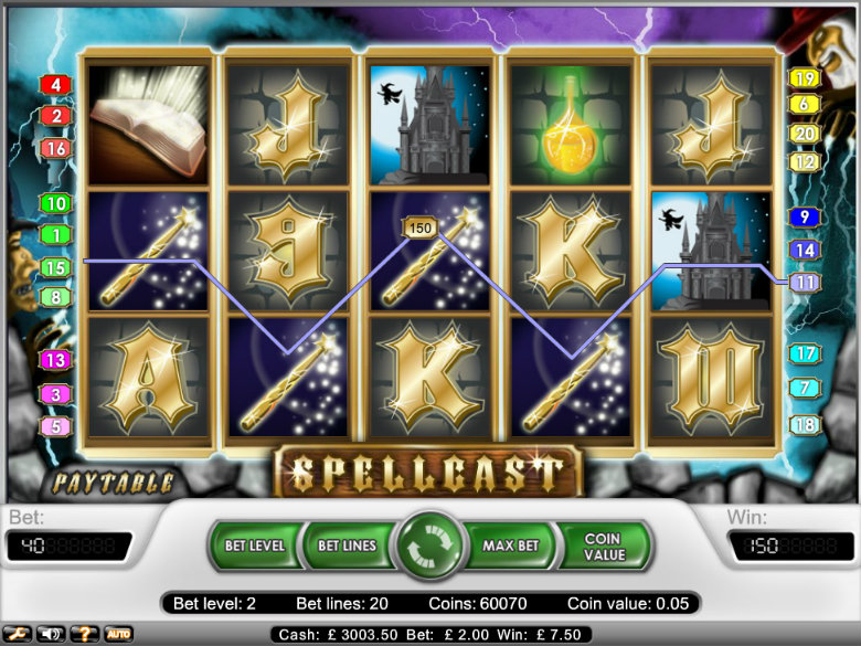 Spellcast - Video Slot