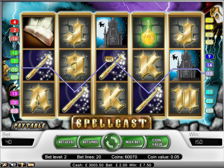 Spellcast - Video Slot