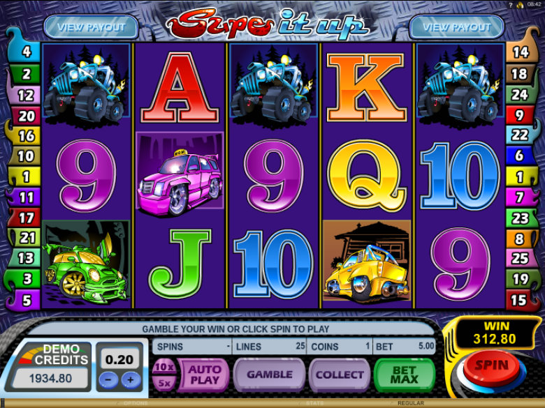 Supe It Up - Video Slot