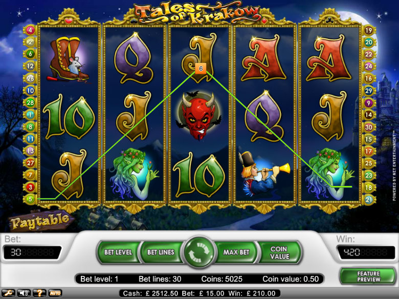 Tales of Krakow - Video Slot