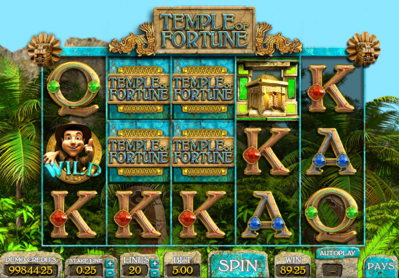 Temple of Fortune - Video Slots