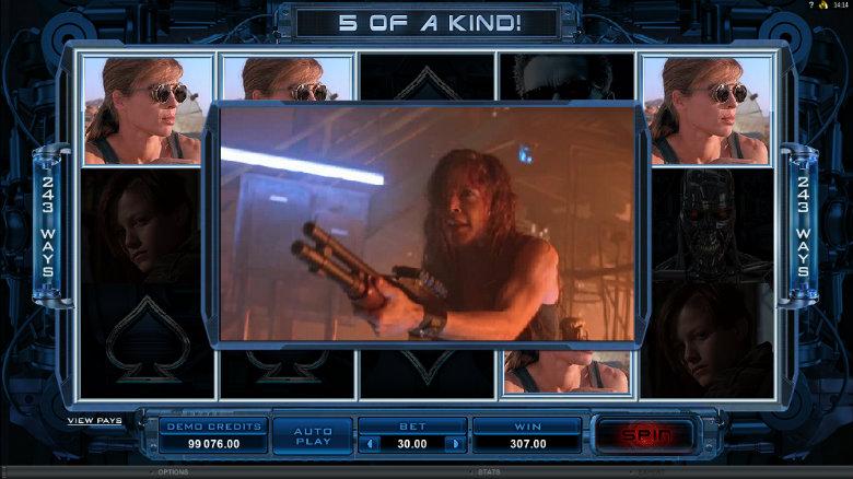 Terminator 2 - Video Slot