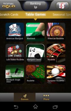 free online mobile casino golden casino games