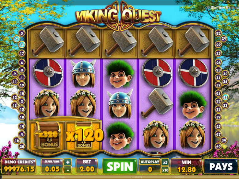 Viking Quest - Video Slot