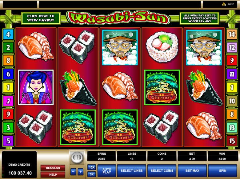 Wasabi San - Video Slot
