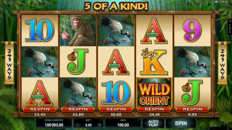 Wild Orient - Video Slot