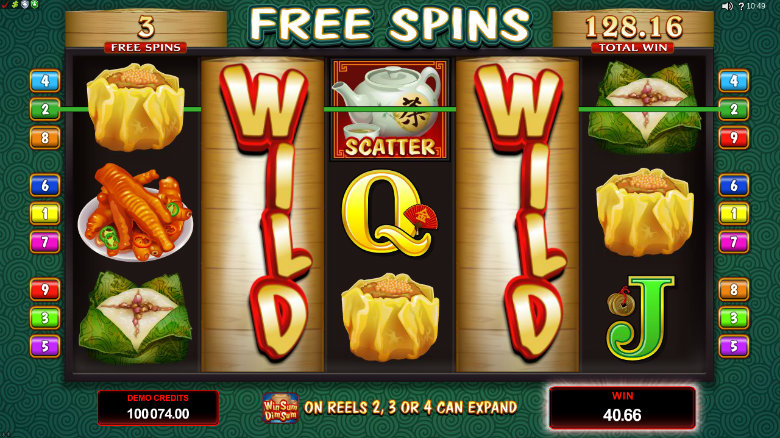 Win Sum Dim Sum - Video Slot
