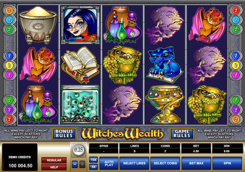 Witches Wealth - Video Slot