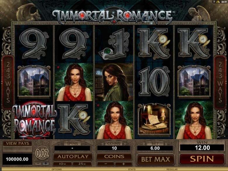 Immortal Romance Video Slot