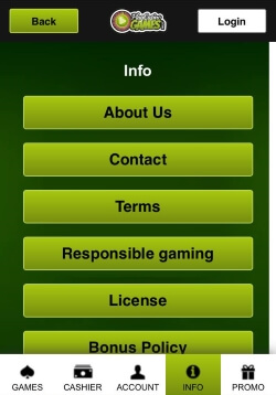 Play Casino Games Mobile Website | Play video slots and video poker games