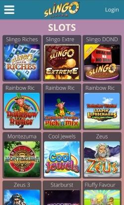 Slingo Mobile - Casino Rewards - casino bonuses