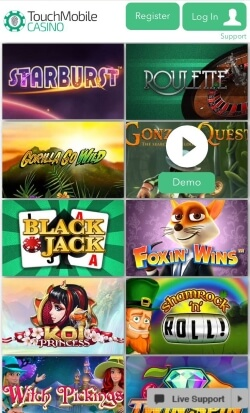Touch Mobile Casino | Play mobile blackjack and roulette