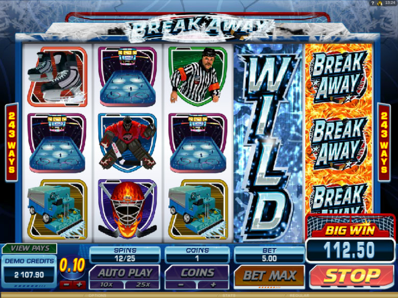 Break Away - Video Slot