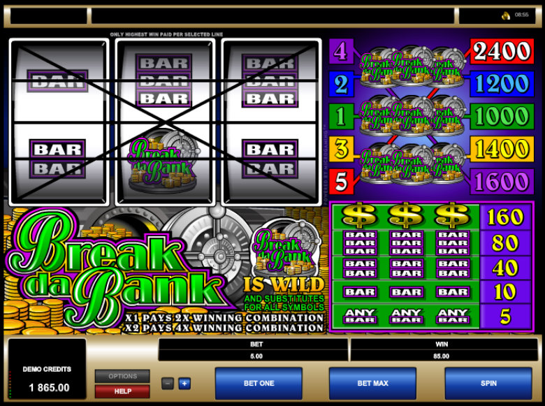 Break Da Bank - Classic Slots