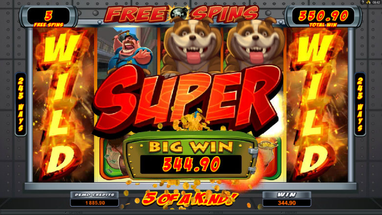 Bust The Bank - Video Slot