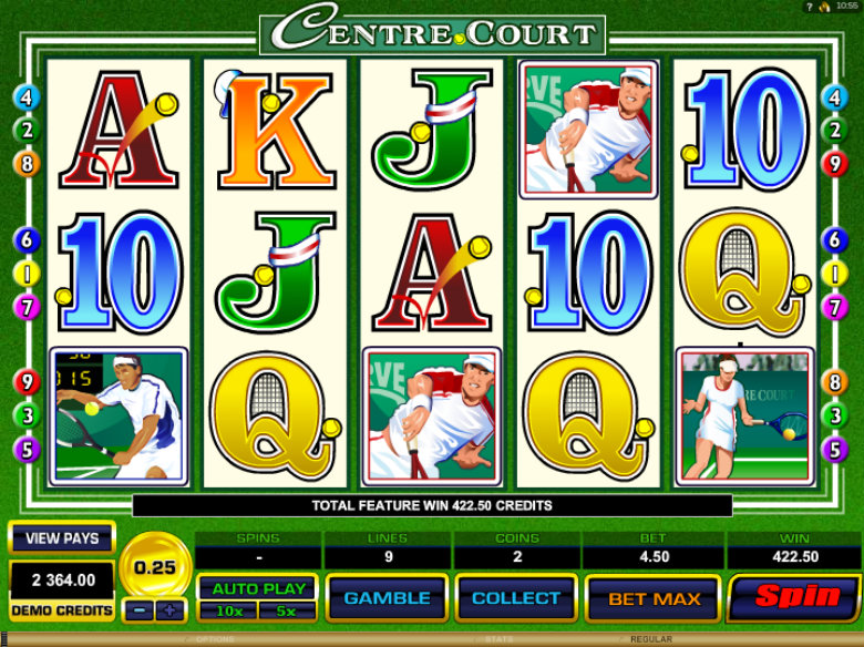 Centre Court - Video Slot