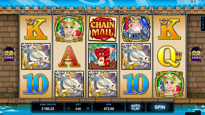 Chain Mail - Video Slot