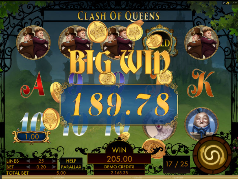Clash Of Queens - Video Slot