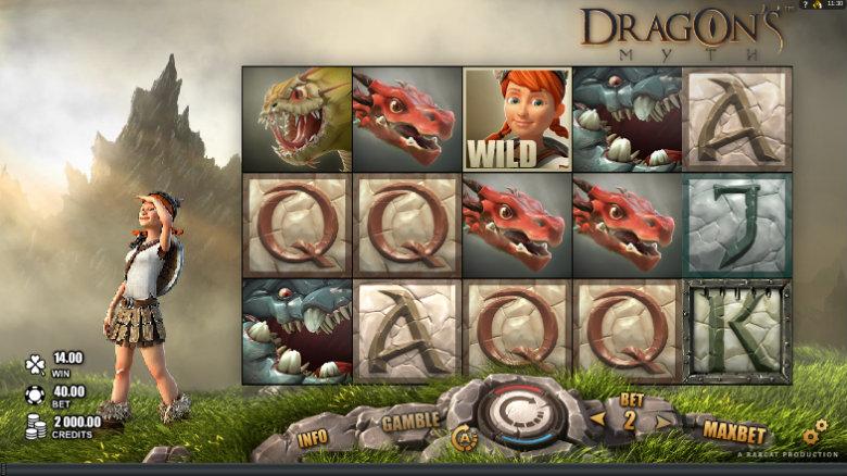 Dragons Myth - Video Slot