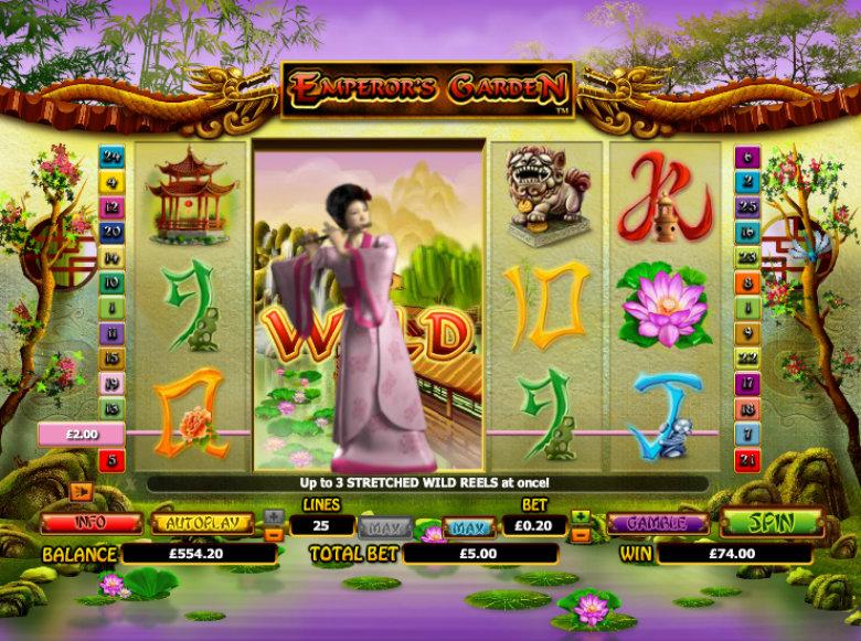 Emperor's Garden - Video Slot