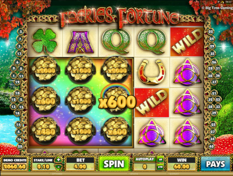 Faeries Fortune - Video Slot