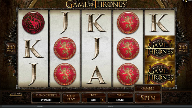 Game of Thrones 243 Ways - Video Slot