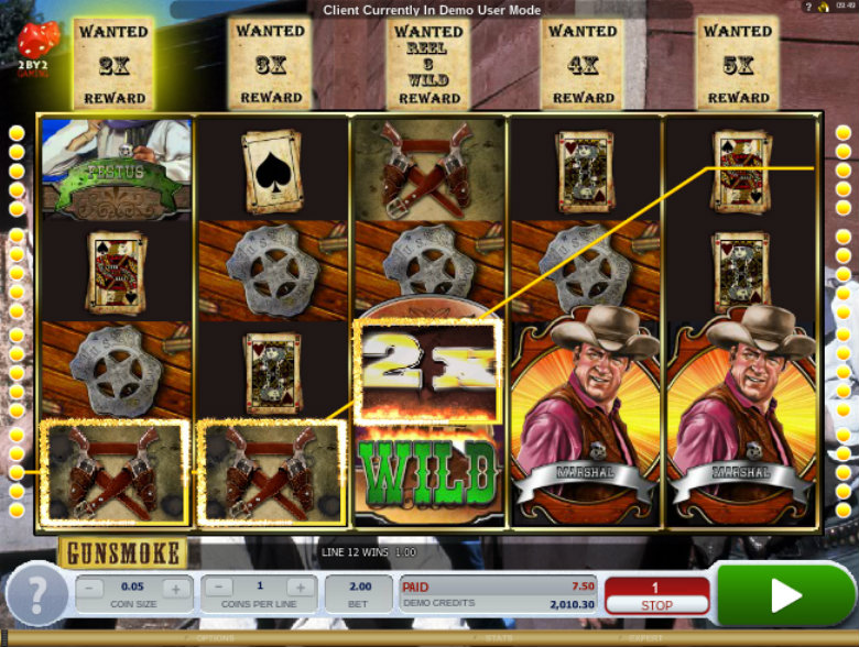 Gunsmoke - Video Slot