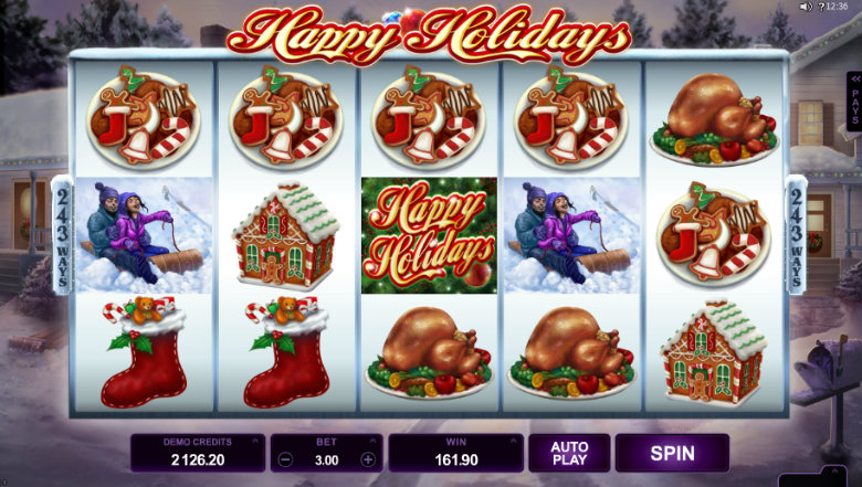 Happy Holidays - Video Slot