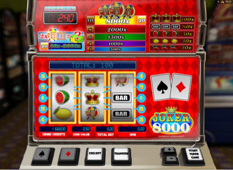 Joker 8000 - Online Slot