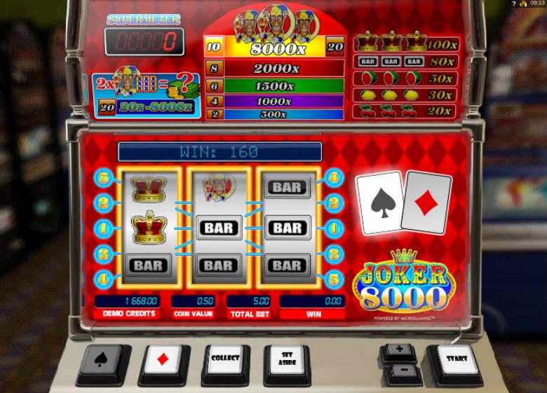 Joker 8000 - Microgaming Slot