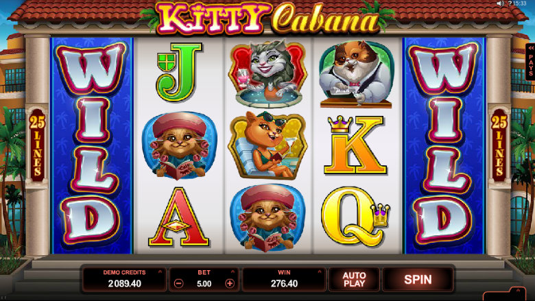 Kitty Cabana - video slot