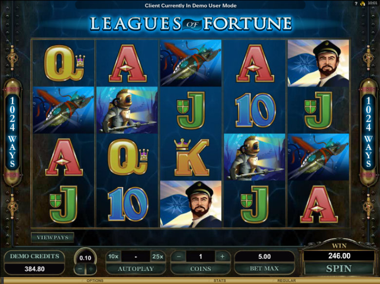 Leagues of Fortune - Video Slot