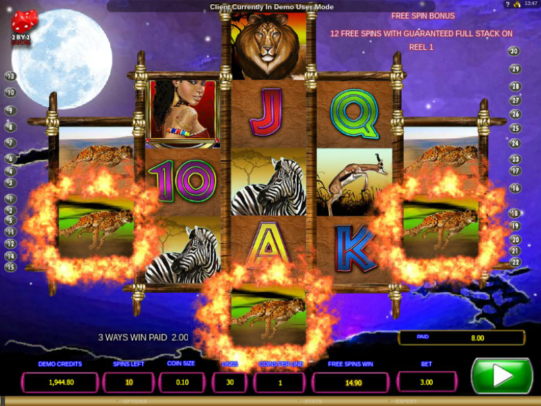 Legends of Africa - Video Slot