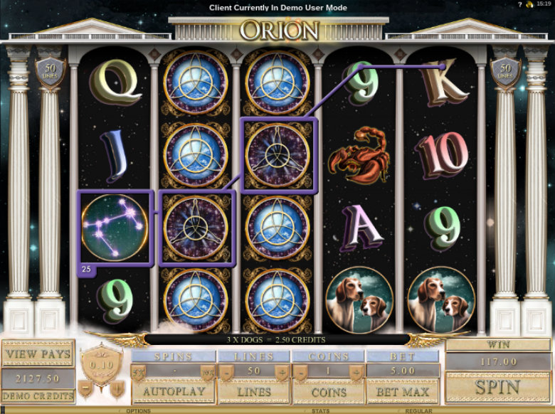 Orion - Video Slot