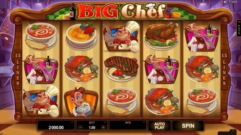 Big Chef Video Slot