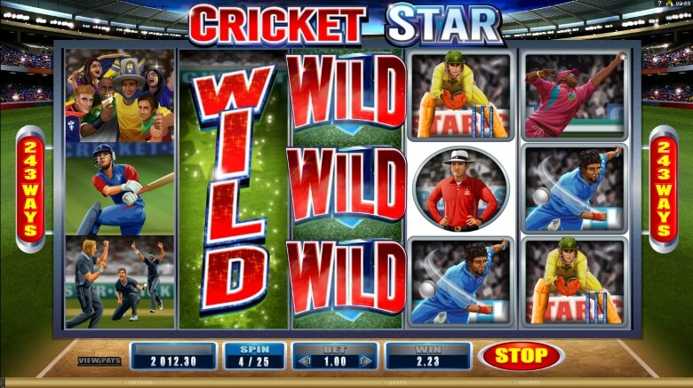 Cricket Star online slot