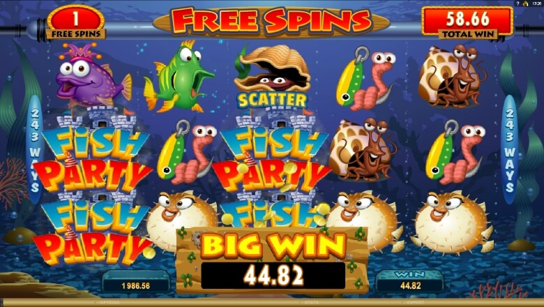 Fish Party online slot