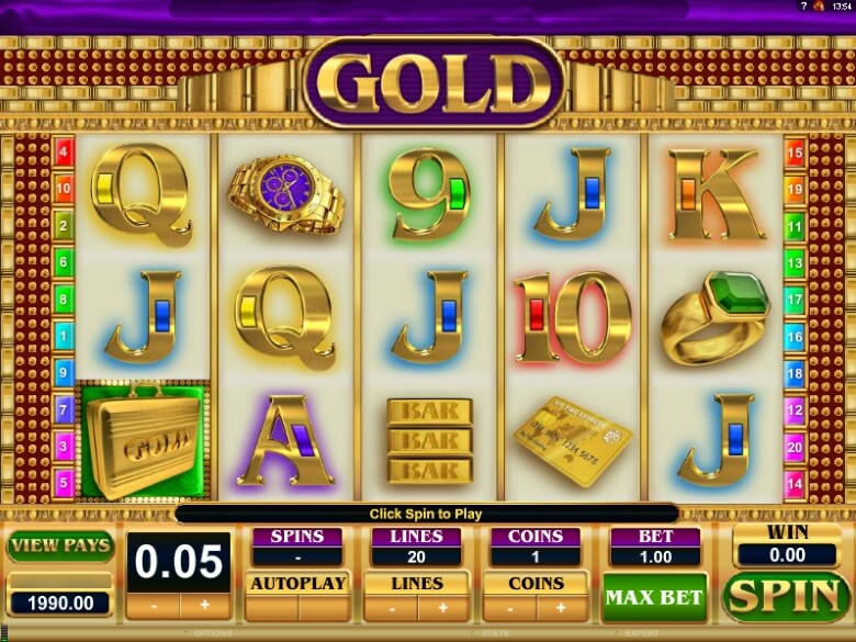 Gold Video Slot