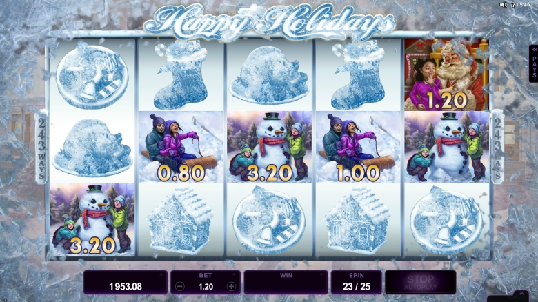 Happy Holidays by Microgaming