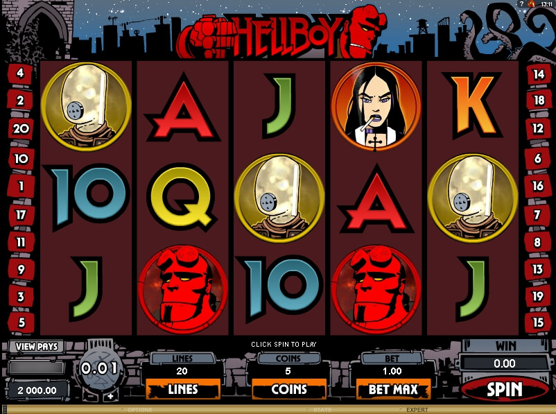 Hell Boy video slot