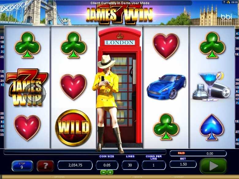 James Win Online Slot